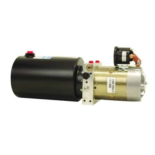 Bucher Dual Action Pump with Steel Reservoir