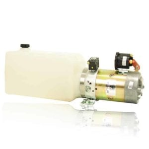 Bucher Power Up Gravity Down Poly Tank Pump